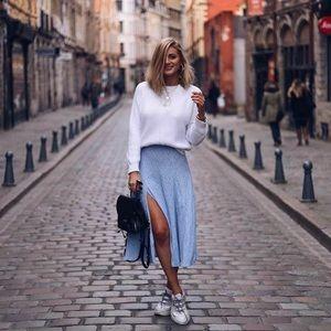 FINAL SALE | H&M Floral Slit Skirt